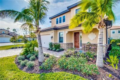 Naples Single Family Home Pending With Contingencies: 14596 Tuscany Pointe Trl