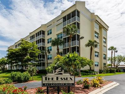 Marco Island Condo/Townhouse For Sale: 861 S Collier Blvd #S-103