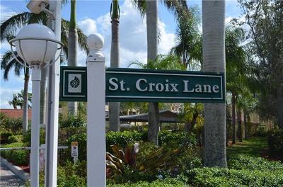 Naples Condo/Townhouse For Sale: 4645 Saint Croix Ln #1315
