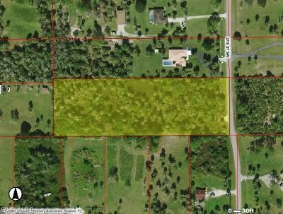 Collier County Residential Lots & Land For Sale: 791 27th St SW