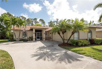 Naples Single Family Home For Sale: 293 Willoughby Dr