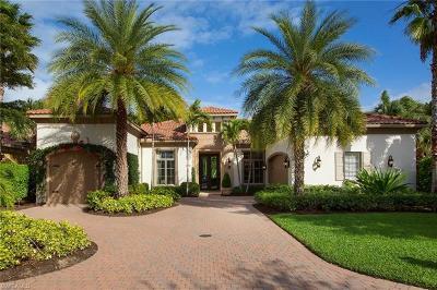 Naples Single Family Home For Sale: 2199 Miramonte Way