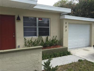 Fort Myers Single Family Home Pending With Contingencies: 483 Figuera Ave