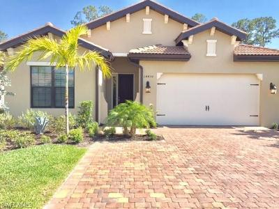 Naples Rental For Rent: 14430 Tuscany Pointe Trl