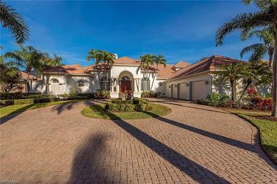 Naples Single Family Home For Sale: 2630 Bulrush Ln