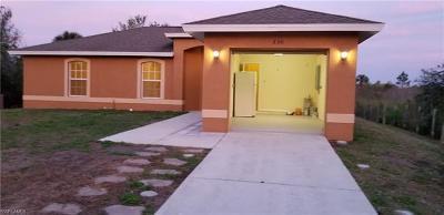 Naples Single Family Home For Sale: 830 16th St NE
