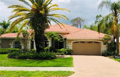 Naples Single Family Home For Sale: 6737 Mill Run Cir