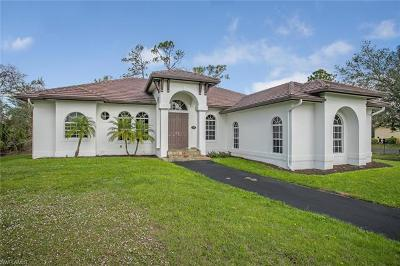 Naples FL Single Family Home For Sale: $386,000
