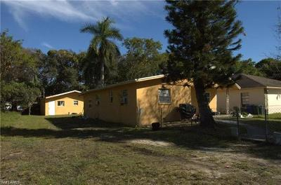 Fort Myers Single Family Home For Sale: 1423 Lura Ave