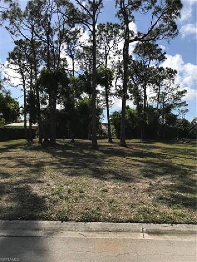 Naples Residential Lots & Land For Sale: 183 Palmetto Dunes Cir