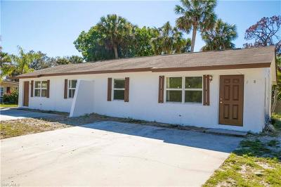 Bonita Springs Multi Family Home For Sale: 11580/582 Dean St