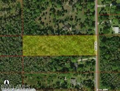 Collier County Residential Lots & Land For Sale: 5th St NW