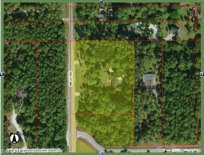 Collier County Residential Lots & Land For Sale: 2870 66th St SW