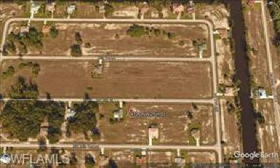 Collier County, Lee County Residential Lots & Land For Sale: 4209 NW 25th Ter