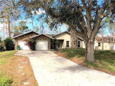 Naples Single Family Home For Sale: 6161 Waxmyrtle Way