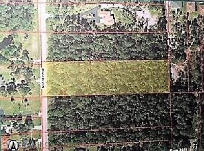 Collier County Residential Lots & Land For Sale: Wilson Blvd. N.