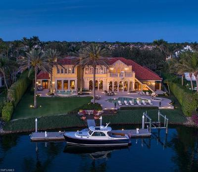 Naples FL Single Family Home Pending With Contingencies: $13,995,000