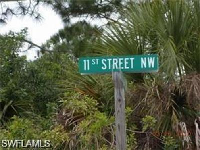 Naples Residential Lots & Land For Sale: 328300 11th NW St