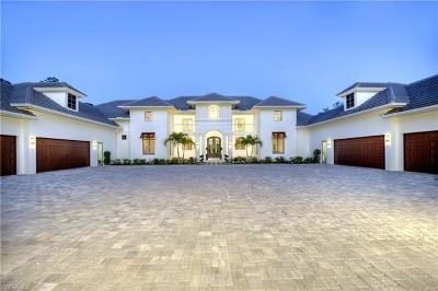 Naples Single Family Home For Sale: 4477 Club Estates Dr
