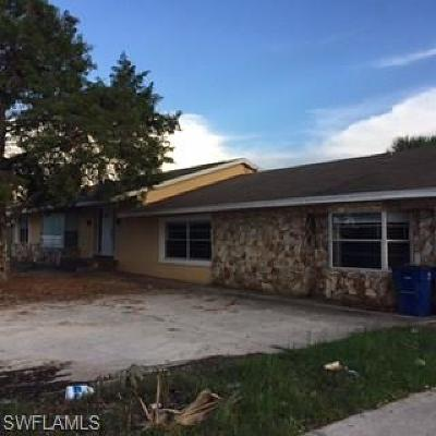 Collier County, Lee County Single Family Home For Sale