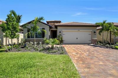 Naples Single Family Home For Sale: 14392 Tuscany Pointe Cv