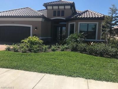 Naples Single Family Home For Sale: 8399 Palacio Ter S