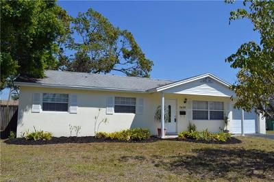 Naples Single Family Home For Sale: 3408 Poinciana St