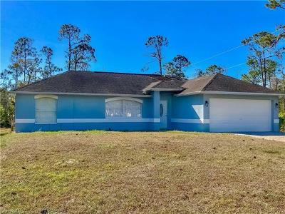 Naples Single Family Home For Sale: 4273 14th St NE