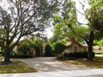 Naples Single Family Home Pending With Contingencies: 6680 Mangrove Way