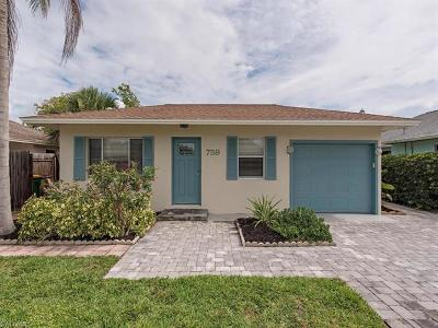 Naples Single Family Home For Sale: 759 102nd 759 102 Ave N