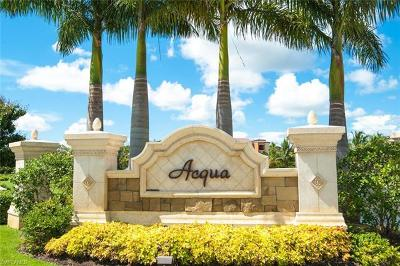 Naples Condo/Townhouse For Sale: 9715 Acqua Ct #134