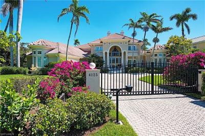 Naples FL Single Family Home For Sale: $9,495,000