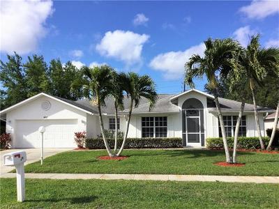 Naples Single Family Home For Sale: 801 Charlemagne Blvd