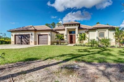 Naples FL Single Family Home For Sale: $729,000