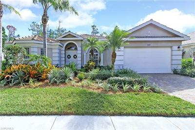 Naples Single Family Home For Sale: 1436 Serenity Cir