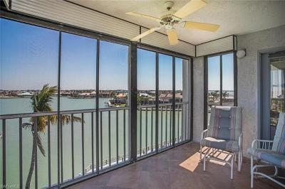 Marco Island Condo/Townhouse Pending With Contingencies: 897 Collier Ct #4-601