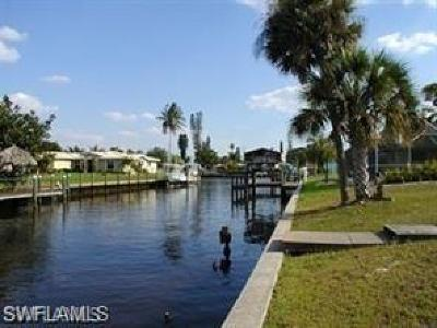 Cape Coral Single Family Home Pending With Contingencies: 5333 Malaluka Ct