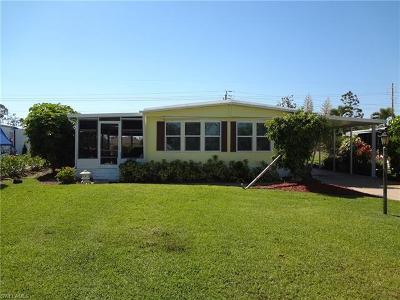 Goodland, Marco Island, Naples, Fort Myers, Lee Mobile/Manufactured For Sale: 91 Le Mans Dr