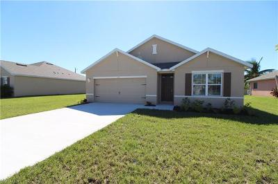 Cape Coral Single Family Home For Sale: 525 NW 14th Ter