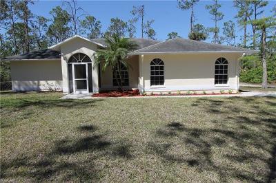 Naples Single Family Home For Sale: 2361 22nd Ave NE