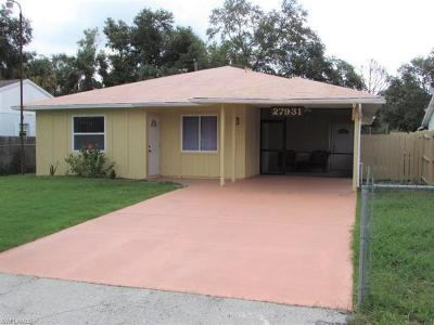 Bonita Springs Single Family Home For Sale: 27931 Quinn St