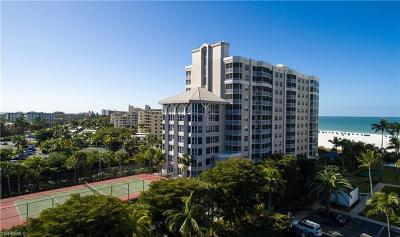 Fort Myers Condo/Townhouse For Sale: 6620 Estero Blvd #906