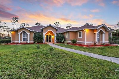 Naples FL Single Family Home For Sale: $565,000