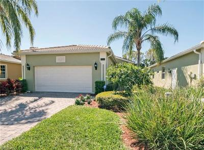 Naples Single Family Home Pending With Contingencies: 15249 Cortona Way