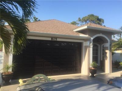 Naples Single Family Home For Sale: 805 109th Ave N