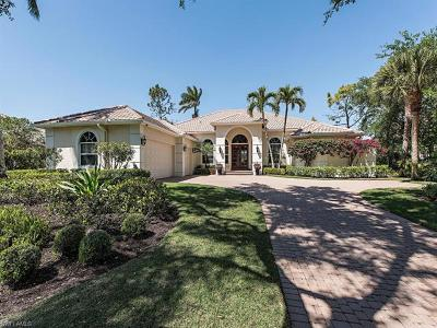 Single Family Home For Sale: 12590 Colliers Reserve Dr