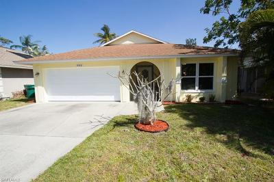 Naples Single Family Home Pending With Contingencies: 793 97th Ave N