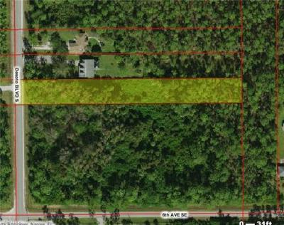 Golden Gate Estates Residential Lots & Land For Sale: 70th