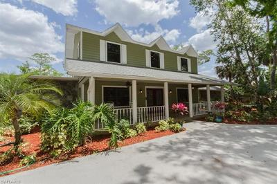 Naples Single Family Home For Sale: 630 9th St NW