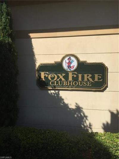 Naples Condo/Townhouse For Sale: 1051 Foxfire Ln #103